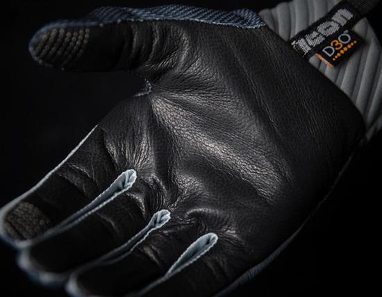 Rękawice Motocyklowe ICON ANTHEM DEPLOYED Grey